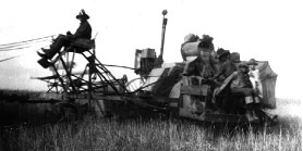 Our first combine c.1939
